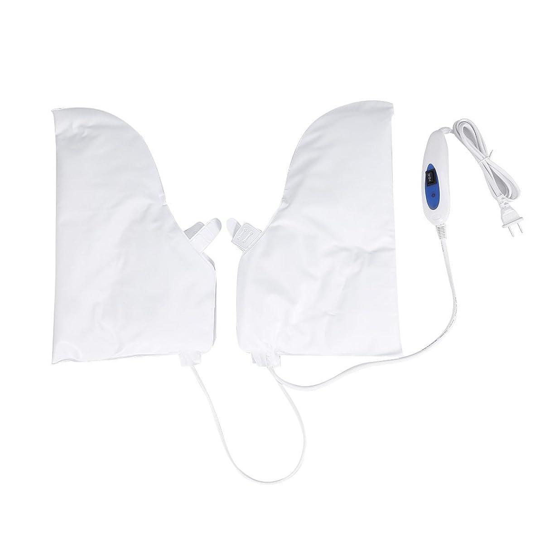 最小化するくすぐったいライセンス蒸し手袋 ハンドマスク 保湿グローブ 電熱手袋 ヒートグローブ 加熱式 電熱 手ケア ハンドケア 2つ加熱モード 乾燥対策 手荒れ対策 補水 保湿 美白 しっとり 美容 手袋