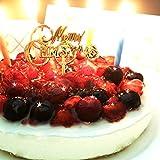 クリスマスケーキ 4種のベリー チーズケーキ 【キャンドル Xmasプレート 手紙付き】…