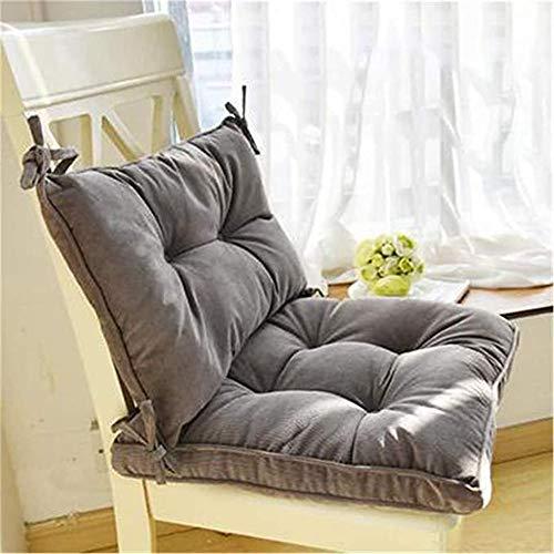RAILONCH Non-Slip Rocking Chair Cushion Set, Rocking Chair Cushions Backrest Size: 11.8X16.9inch, seat Cushion Size: 16.9X16.9inch - No Chairs (Grey)