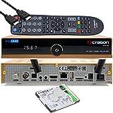 OCTAGON SF8008 4K UHD HDR Combo Receiver Limited Gold Edition DVB-S2X & DVB-C/ DVB-T2, satellite, cavo / segnale terrestre, E2 Linux IPTV Smart TV Box, funzione di registrazione, WiFi [2TB interna]