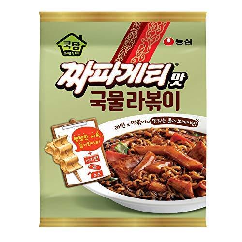 [Nongshim] Chapagetti Chajang Noodle Tteokbokki (stir-fried rice cake) / Korean food / Korean tteokbokki / Jajangmyeon / Instant cooking food / Asian dishes (overseas direct shipment)