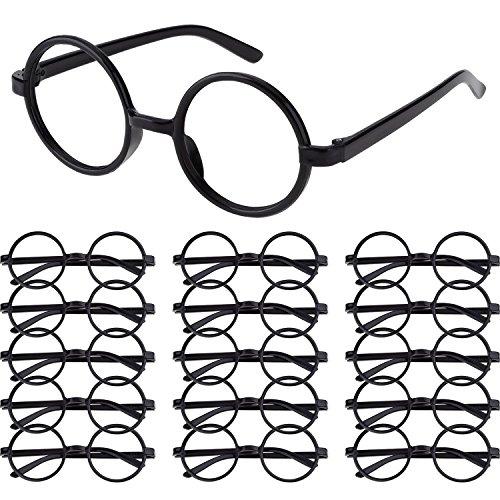 Shappy 16 Piezas Gafas de Magos de Plástico Marco de Gafas