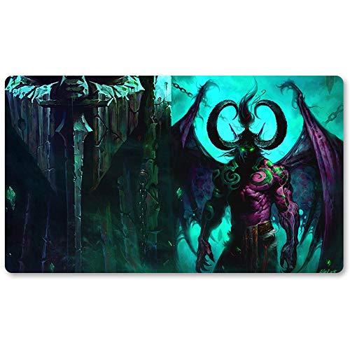 Warcraft8 – Juego de mesa de Warcraft tapete de mesa Wow juegos teclado Pad Tamaño 60 x 35 cm World of Warcraft Mousepad para Yugioh Pokemon MTG o TCG