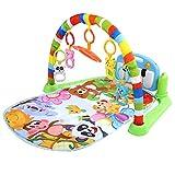 GOTOTOP Alfombra de Juego de Música para Bebés Manta Gimnasio Piano Alfombra Infantil Actividades para Educación Temprana y Fitness