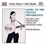 Music of the Italian Renaissance