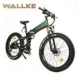 W WALLKE X3 Por 26-inch Fat Tire Electric Bicycle 48V14AH Samsung Lithium Battery Adult Auxiliary Bike 750W Mountain Snow E-Bike