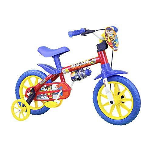 Bicicleta Infantil Masculina Aro 12 Fireman - Com Placa Frontal E Rodas Aro 12