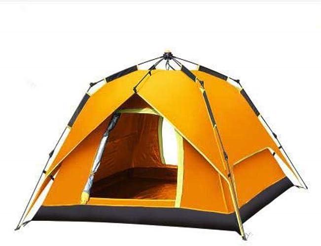 CS-LJ Tente de Camping épaississant extérieur Tente Solaire de Prougeection Solaire Anti-Pluie de 2 Personnes