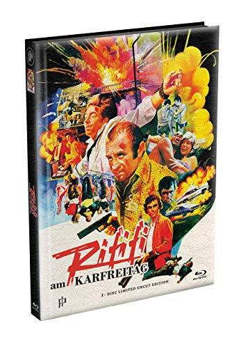 RIFIFI AM KARFREITAG (The Long Good Friday) - 1-Disc wattiertes Mediabook Cover A [Blu-ray] Limited 166 Edition