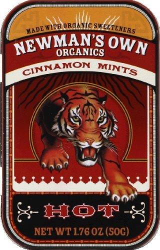 Newman's Own Organics Cinnamon Mints, 1.76 oz