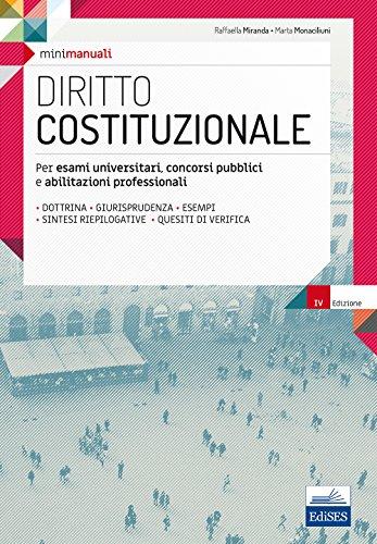 Diritto costituzionale. Per esami universitari, concorsi pubblici e abilitazioni professionali. Con espansione online