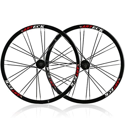 RUJIXU MTB Bicicletta wheelset 26 Pollici Veloce Rilascio Disco Freno Ruote Mountain Bike Ultraleggero Cerchio in Lega Leggera 7/8/9/10 velocità Bicicletta wheelset 2348g