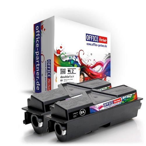 2X Kompatibler Toner zu KYOCERA TK-170 (schwarz) für KYOCERA/MITA FS 1320 D; MITA FS 1320 DN, MITA FS 1370 DN