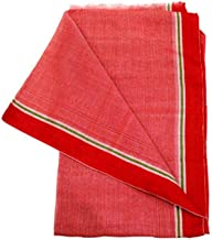VRINDAVANBAZAAR.COM Red Gamcha for Puja Worship- 15 Pieces