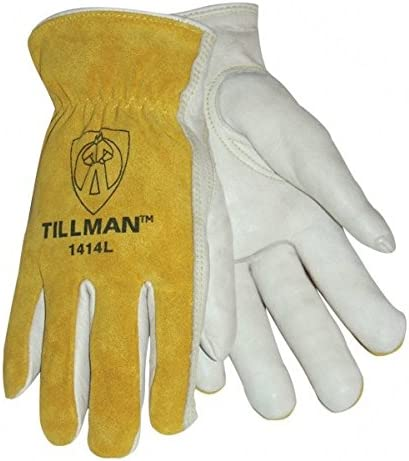 Tillman 1414 Top Grain Split Cowhide OFFer Drivers pack - 4 of New Free Shipping Gloves