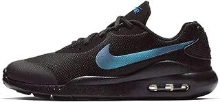 Kids' Grade School Air Max Oketo Shoes (5.5, Black/Racer Blue)