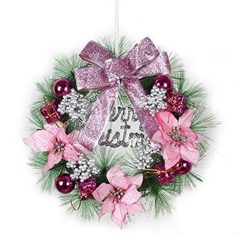 GYH Guirlande de Noël - décorations de Noël Pendentif Arbre de Noël Ornements Lieu décoration Accessoires Guirlande décorative /& (Couleur : C)