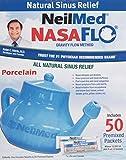 Best Neti Pots - NeilMed Nasaflo Porcelain Neti Pot, 50 Count Review