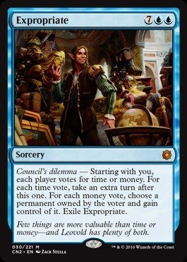 Magic The Gathering - Expropriate (030/221) - Conspiracy 2: Take The Crown