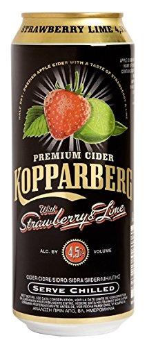 Kopparberg Strawberry und Lime Premium Cider Cans (24 x 0.5 l)