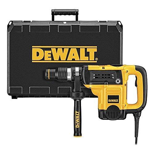 Dewalt D25820K-QS Martillo demoledor 5kg 1150W 8J, 18 V, Negro y amarillo, Set de 2 Piezas