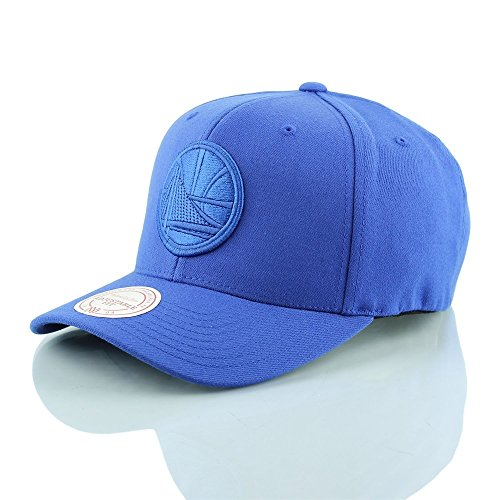 Mitchell & Ness Homme Casquettes / Snapback NBA Tonal Logo High Crown 110 Golden State Warriors bleu Réglable