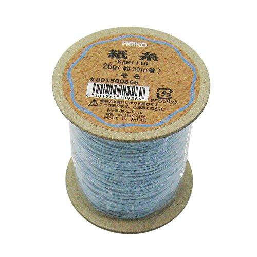 シモジマ ヘイコー リボン 紙糸 そら 1mmx30m巻 001500666