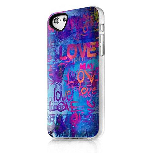 ITSKINS itip5cphantbl Phantom Love Apple Back Cover/Custodia Protettiva per iPhone 5C