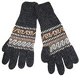 Gamboa - Alpaka Handschuhe - Unglaublich Warm - Grau -