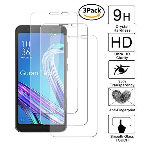 Guran [3 Pezzi] Pellicola Protettiva per ASUS Zenfone Live (L1) ZA550KL Smartphone Ultra Sottile Screen Protector in Vetro Temperato Film Ultra Resistente