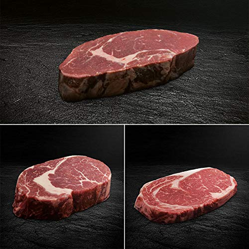 Ribeye Steak Paket - Bison, Black Angus, Hereford Dry-Aged | OTTO GOURMET
