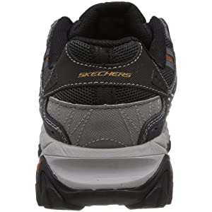 Skechers mens Afterburn M. Fit fashion sneakers, Charcoal, 13 US