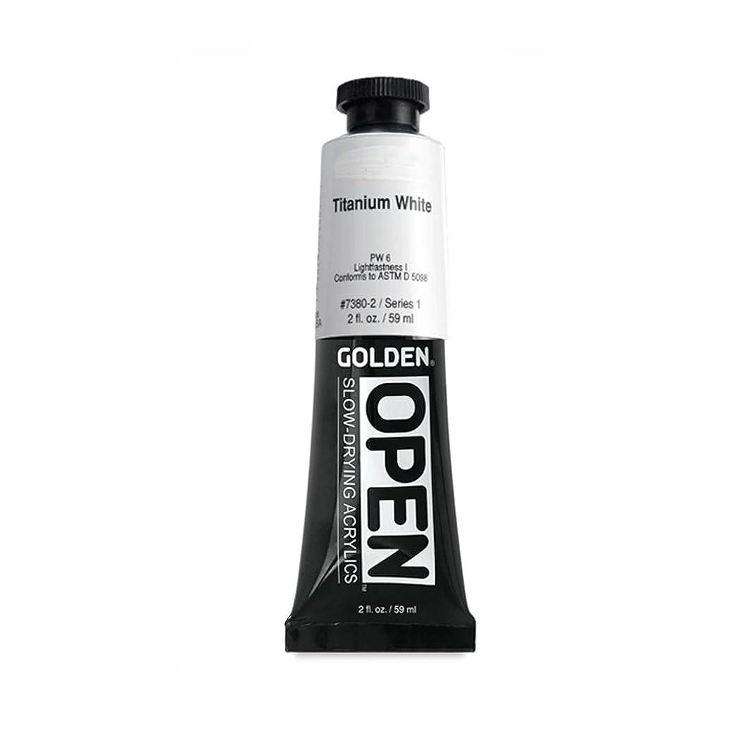 Open 2 Oz Acrylic Color Paints Color: Titanium White