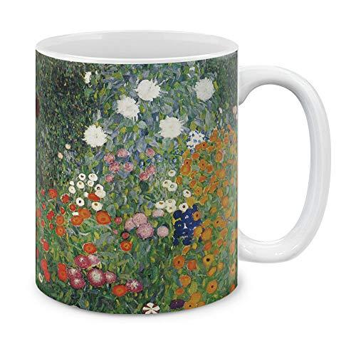MUGBREW Kaffeetasse, klassisch, 325 ml Gustav Klimt Flower Garden