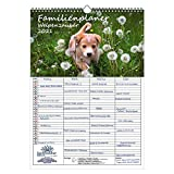 Familienplaner - Welpenzauber DIN A3 Kalender für 2021 Hunde Welpen - Seelenzauber