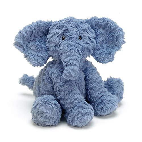 Jellycat Fuddlewuddle Elefant Kuscheltier Stofftier Plüsch - mittelgross - 23cm - Elephant