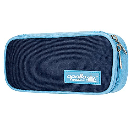Bolsa diabética ONEGenug Enfriador de insulina Bolsa Bolsa de jeringas para la diabetes, insulina y medicamentos 20x4x9cm (azul)