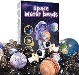 AINOLWAY Space Sensory Toy - Kit educativo no tóxico para niños, educativo STEM para exploración del espacio exterior, juego con 11 bolas espaciales y 2 astronautas