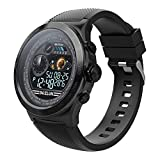 Smartwatch Uomo,Fitness Tracker Android iOS Donna Orologio Intelligente Bluetooth Smart Watch,Schermo a Colori Impermeabile,con frequenza cardiaca monitor sonno contapassi Remote Call SMS promemoria