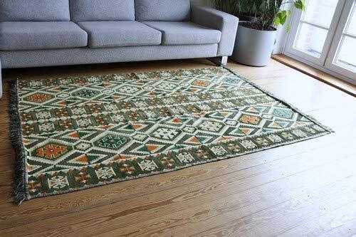 Damask Unst 200x 135cm Orientale Tappeto, Kelim, Kilim, Carpet, Tappetino, Pavimenti, rug Nuovo S 1–4–411