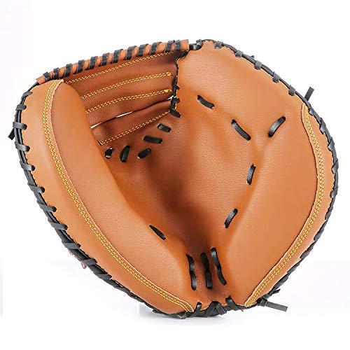Sooiy Handschuh langlebige Art Training Kunstleder PVC verdickte 32 '' Fanghandschuh Baseball Gloves,Onrighthand