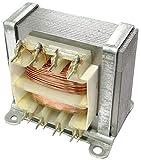 AERZETIX - Trasformatore di alimentazione elettrico universale 8VA - 230V AC - 6V - 0.65A - C44348