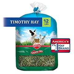 High fiber hay supports digestive health Lower protein and calcium supports urinary health Complements any Kaytee fortified food High quality 1st and 2nd cut Western Timothy Hay blend America's #1 Hay Brand