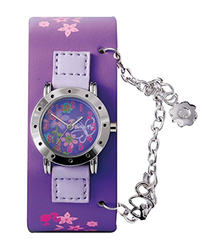 Barbie Mädchen-Armbanduhr Analog Quarz Plastik B713