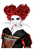 Adult Deluxe Red Queen Wig Standard
