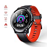 GOKOO Smart Watch Fitness Tracker for Home Health Compatible with iOS and Android Phones Smart Watches with Blood Pressure Heart Rate Sleep Monitor Breath Train Step Counter Activity Watch for Men