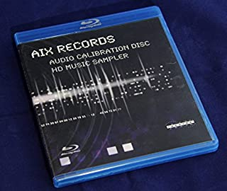 AIX Records - Blu-Ray Audio Calibration Disc and HD Music Sampler
