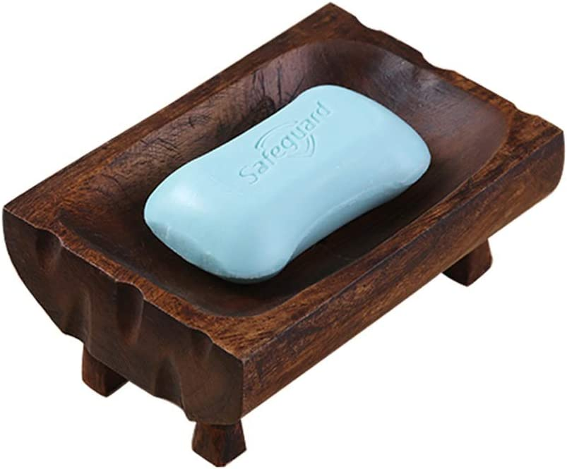 LANA soap dish Holder with Drain Handmade High quality new Standing Hole Trust Free Woo