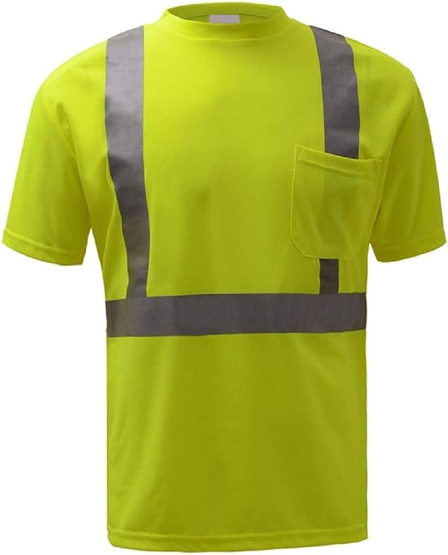 Max 40% New Orleans Mall OFF Arrow GSS Safety Standard Class Short Moisture Wicking 2 Sleeve