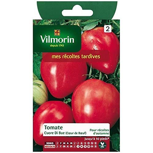 Vilmorin - Sachet graines Tomate Cuore di Blue (coeur de boeuf)